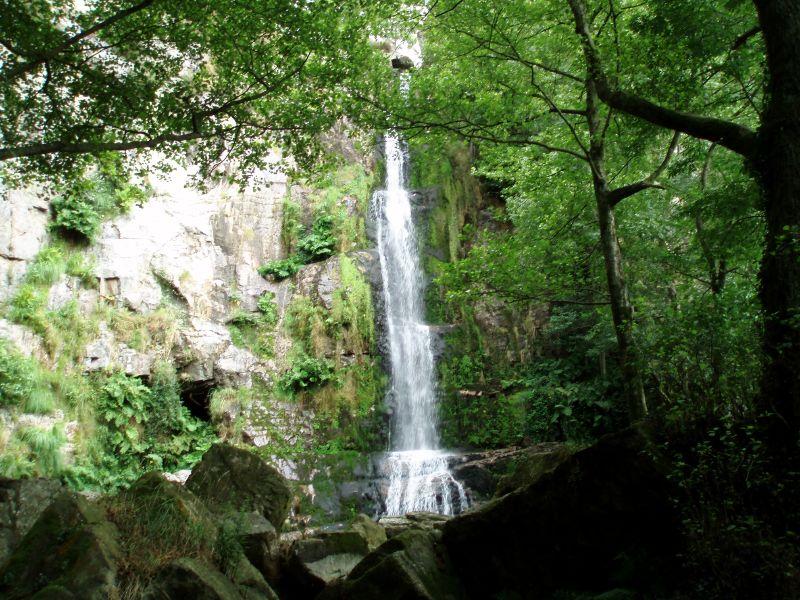 Las Cascadas de Oneta en Asturias
